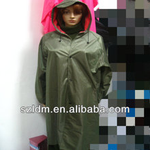 heavy duty long raincoat