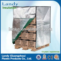 custom heat reflective protective pallet cover