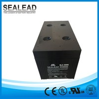 coastal areas with strong wind area wind power station 2v 3000AH lead acid and SMF storage battery