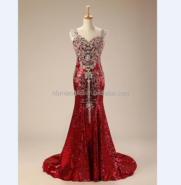 2017 hot red wedding dresses_Yuanwenjun.com