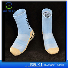 For Adults Latex Rubber Sole Non Skid Dots Slipper Sock Wholesale Indoor Ankle Anti Slip Sock