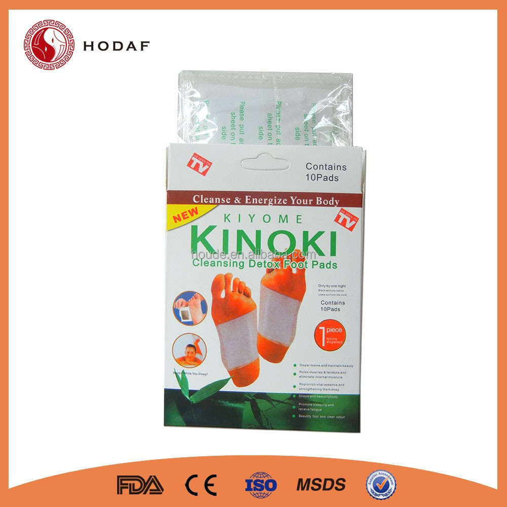 Factory price Detox Kinoki Foot Pads
