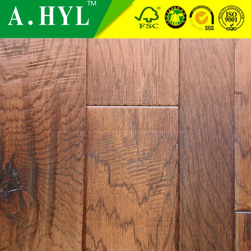 distressed hickory engineered hardwood flooring