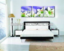 2012 hot sale fllower canvas wall art prints