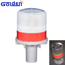 Factory Directly LED dash Lamps solar directional traffic cone light