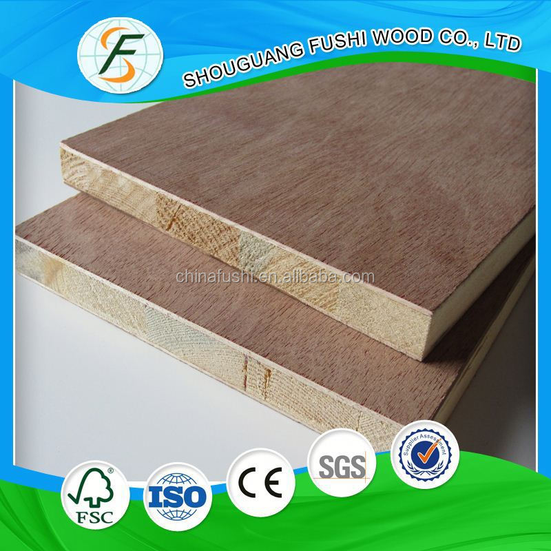 China Supplier Blockboard With Albazia Core