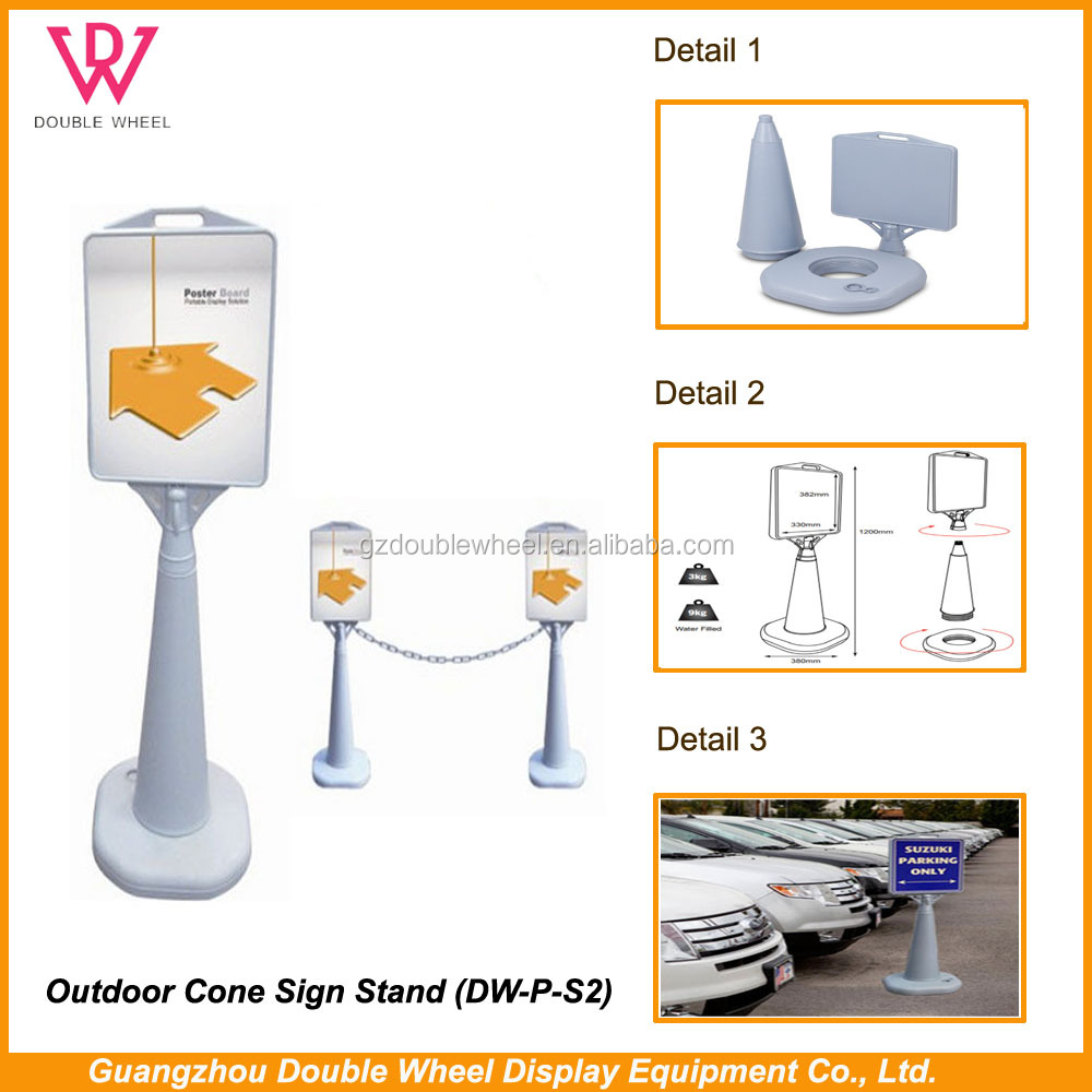 Double side A frame sweet baby sign board display stand,Wholesale metal sidewalk advertising sign A frame sign
