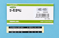 Temperature indicating heat sticker label/4 Level/Irreversible temperature indicator/Made in Japan