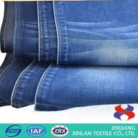 High Quality cvc cotton polyester wholesale jean fabric