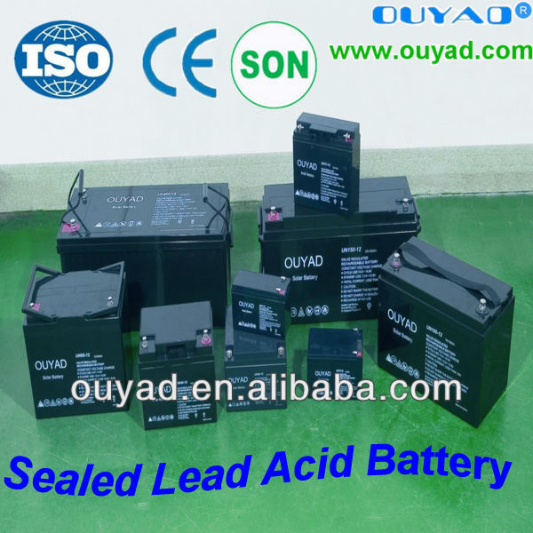 12v 200ah battery power bicycle lead acid battery S.