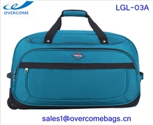 hot selling best price high quality waterproof nylon large capacity travel time trolley bag