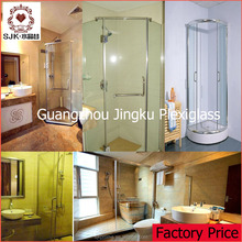 magnetic shower door handle, acrylic plastic door handle