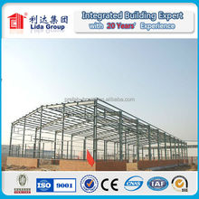 Qatar Multi-Storey Steel Structure Warehouse with fire rated panel
