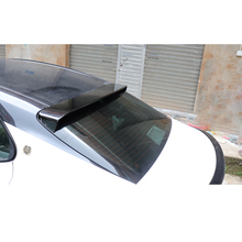 New arrival ABS material rear roof trunk lip spoiler blue white black red color for Camry 2018