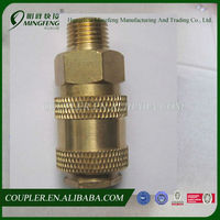 Best selling male thread high quality brass fitting with wing