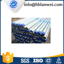 Building material ASTM A53 carbon steel pipe pre galvanized seamless structure steel pipe/tube