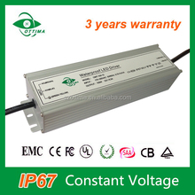 5 years warranty waterproof electronic led power transformer 220v to 24v 100w led driver