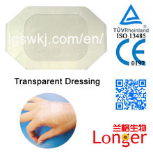 Transparent Disposable Medical Dressing Types of IV Cannula