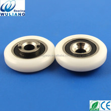 China High Quality S688RS pulley M5x24x7.7mm sliding door pulley system