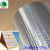 Double Sided Aluminum Foil Bubble Thermal Insulation Material Double sided aluminium foil insulation For Roof And Wall