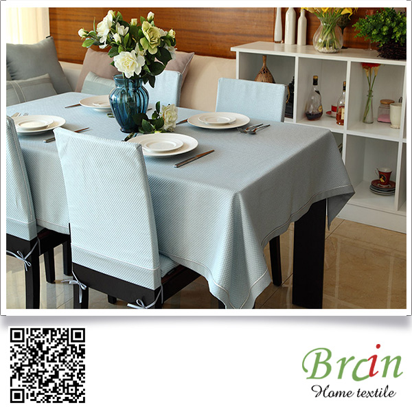 OEM Service Custom Design Polyester Material Ruffled Cloth Table Cloths