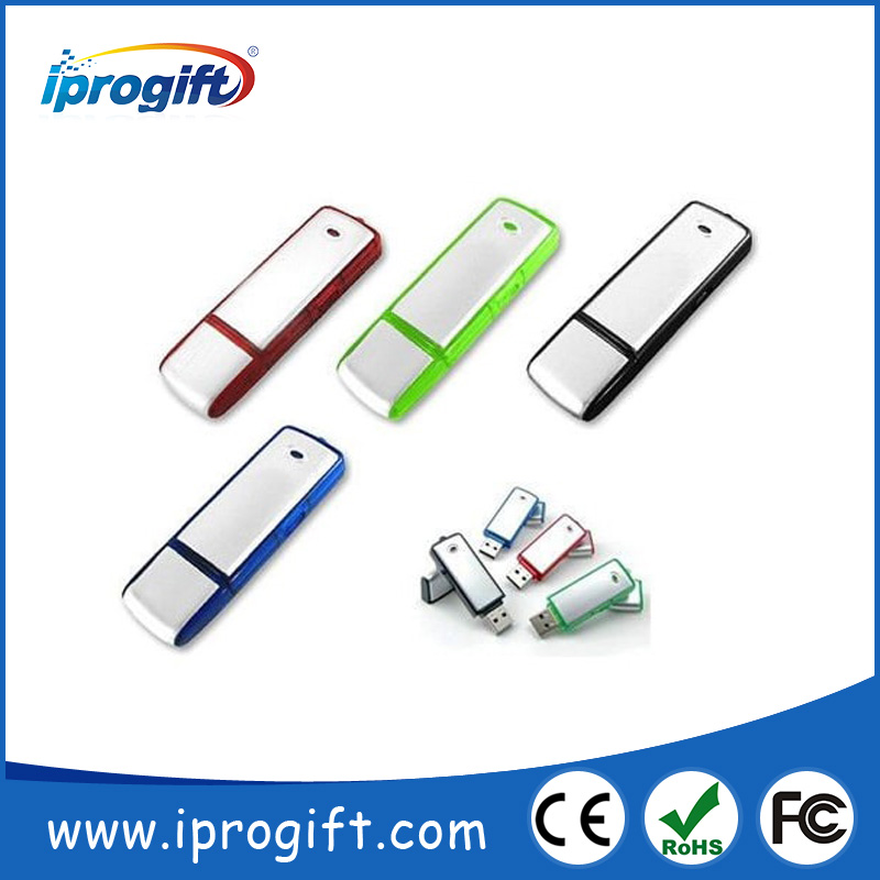 2017 Promotional Gadgets Brushed Metal Custom Flash Drive
