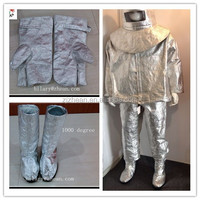 Aluminized fire suit/Heat resistant suit