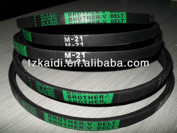 Made in china High quality M21 v-belt for Washing Machine