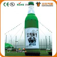 New product inflatable beer bottle for advertising