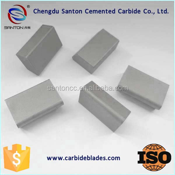 carbide insert tip bullet for snow plow blade