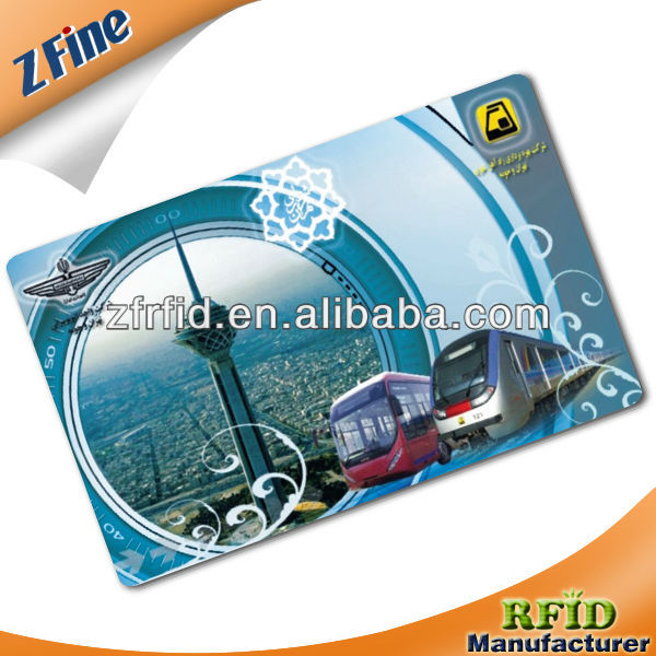Smart Multiple or Single Trip Ticket Card for Metro/Bus