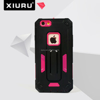 New Design Shockproof PC TPU Cover For Iphone 6 Screen Protector Cell Phone Case XR-PC-85