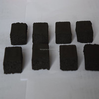smokeless odorless fire cube charcoal for shisha/hookah (100% pure white ash)