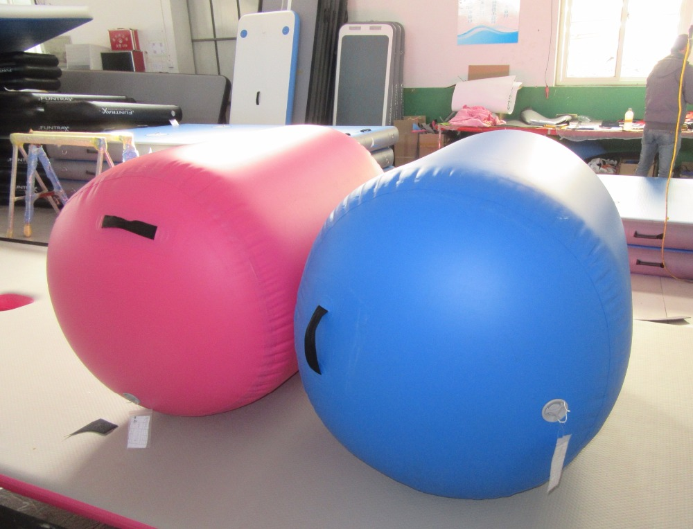 inflatable air roll barrel for gymnastics