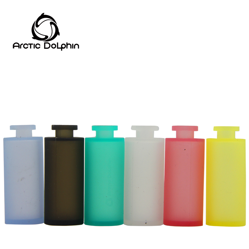 Colored silicone bottle and support ODM and OEM service with different shape bottle