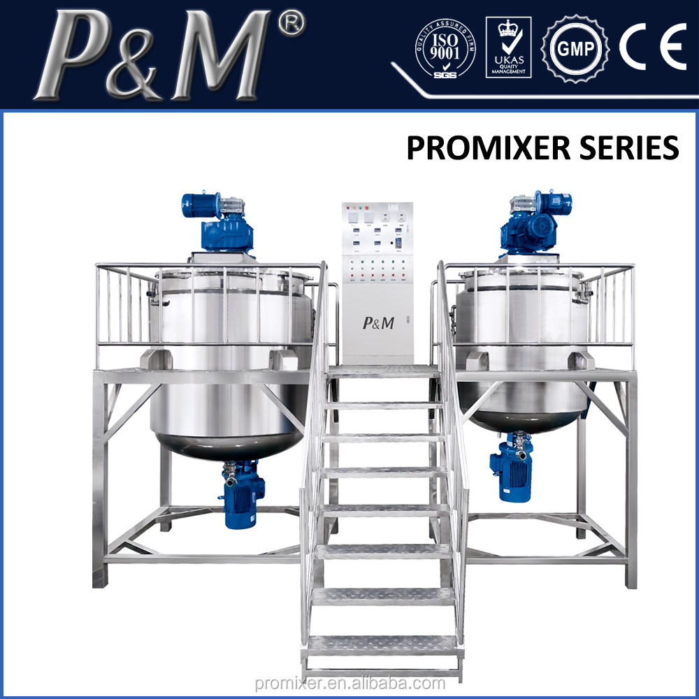 Stainless Steel Chemical Shampoo Mixing Manufacturer Equipment