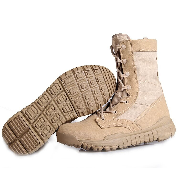 Military combat boots hight quality super-light army boots