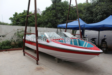 8 persons small fiber reinforced plastic fishing boat for sale