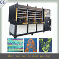 KPU shoes vamp hydraulic molding machine