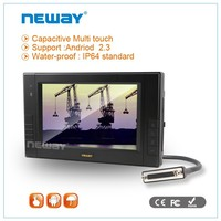 7''Agriculture capacitive touch DC24V linux openGL IP64 waterproof tablet