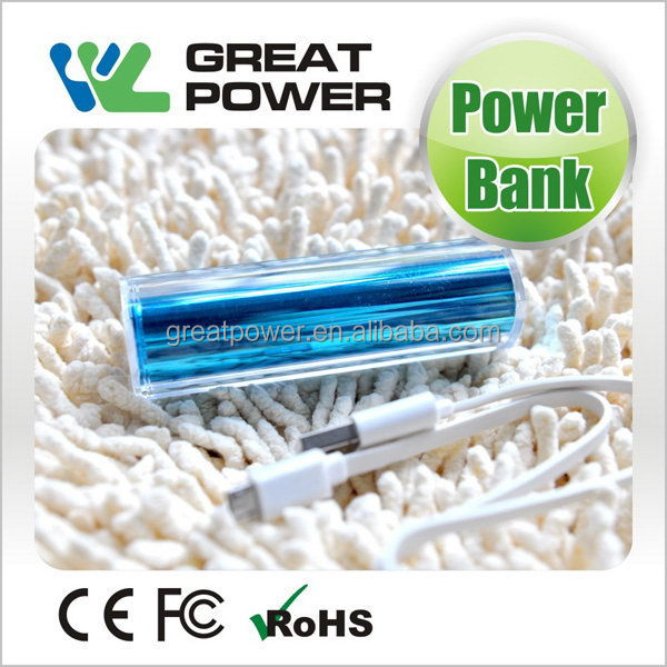 Cheap Best-Selling smartphone mobile power bank 2600mah