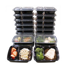 Compartment Meal Prep opaque plastic food storage containers