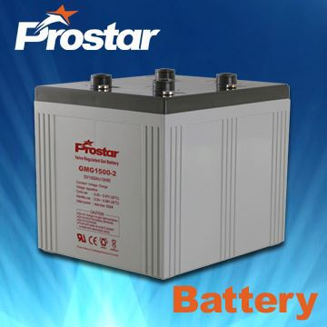 2V 1500AH Factory Produced Best Price Maintenance Free Stationary Gel Battery