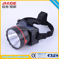 Wholesale durable solar power rechargeable 3 watt led light headlamp for hunting