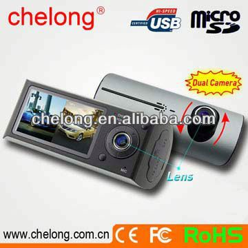 Built-in 1/4 inch low-noise and high-quality photographic element can capture ultra clear picture car camera dvr video recorder