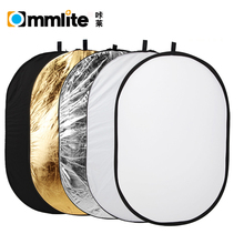 35 x 47 inch 5 in 1 Portable Photography Studio Multi Photo Collapsible Light Reflector Oval 90 x 120cm