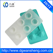 Custom Silicone Ice Cube Tray/Silicone Ice Mould Trays/Resistance to cold silicone ice