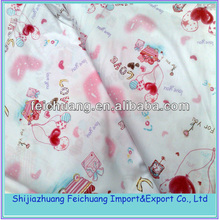 Printed T/C poplin,polyester cotton blend fabric,TC fabric
