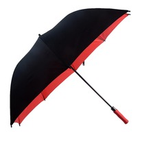 windproof auto open straight Golf umbrella Promotional and subway Golf Umbrellas