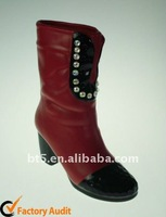 Ceramic girls fashion boots for decoration